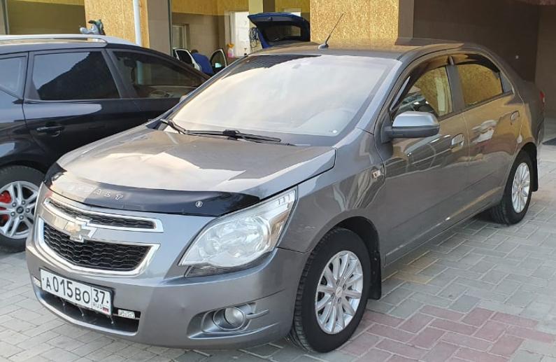 Аренда автомобиля Chevrolet Cobalt в Феодосии