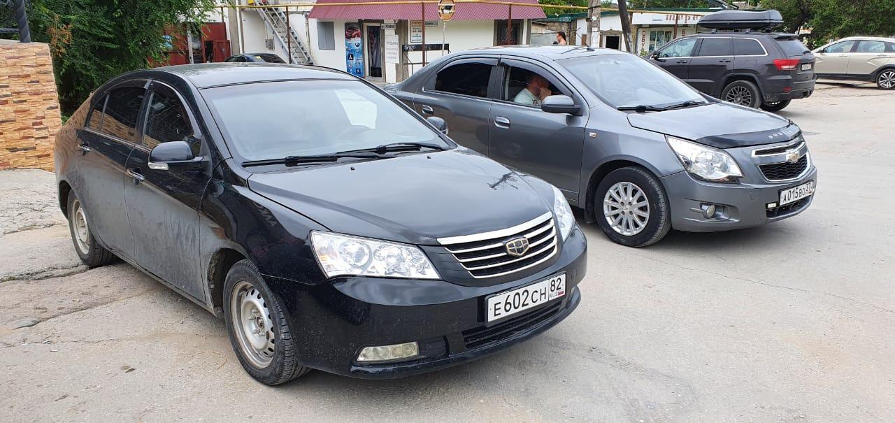 Аренда автомобиля GEELE EMGRAND (FE-1) в Феодосии
