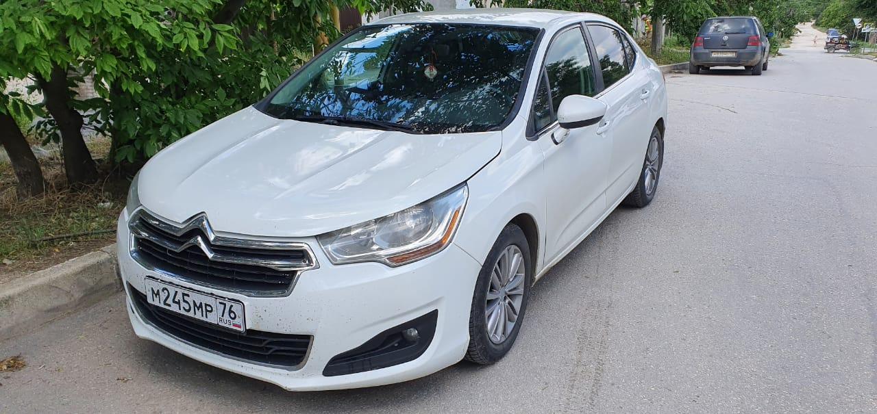 Прокат автомобиля CITROEN C4 в Феодосии
