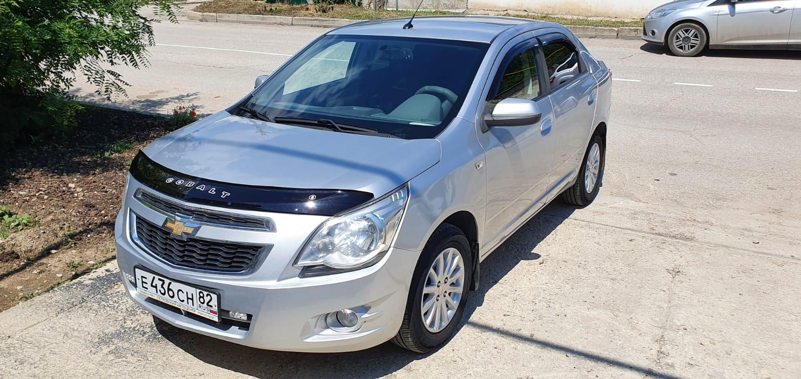 Прокат автомобиля Chevrolet Cobalt в Феодосии