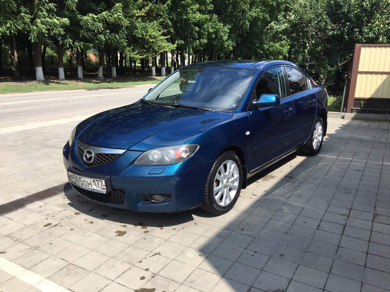 Аренда автомобиля MAZDA 3 в Феодосии