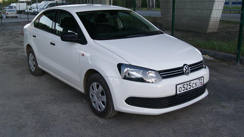 Аренда автомобиля Volkswagen Polo в Феодосии
